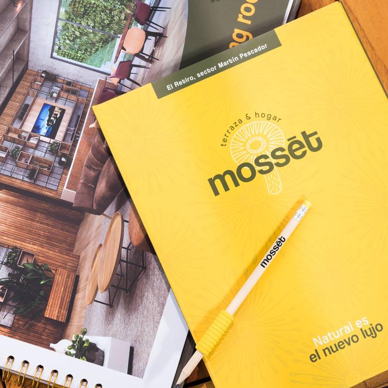 Mosset Apartamentos · Terraza y Hogar · Un proyecto inmobiliario en El Retiro